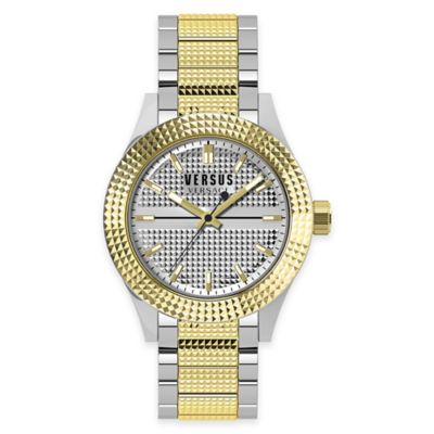 Versus by Versace Men's 42mm Bayside Watch in Two-Tone Stainless Steel