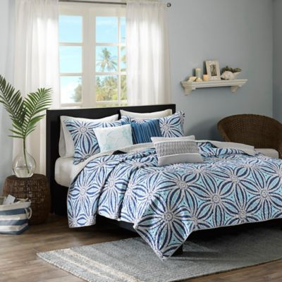 Floral Full Queen Coverlet