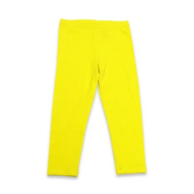 Kidtopia Size 3M Solid Legging in Yellow
