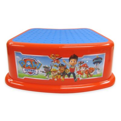 Step Stools > Nickelodeon™ Paw Patrol Contour Step Stool in Red