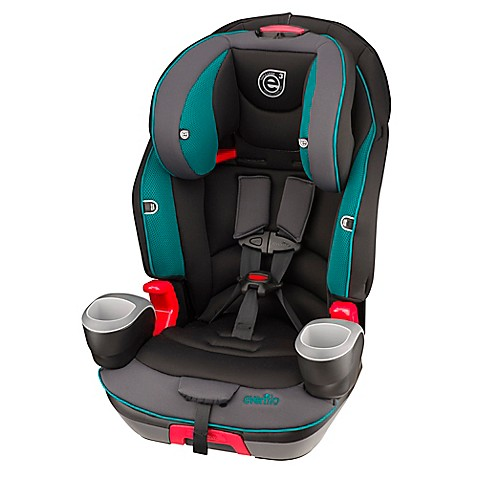 evenflo evolve 3 in 1 combination booster car seat in waterfall mist. Black Bedroom Furniture Sets. Home Design Ideas