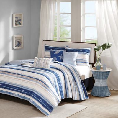 Madison Park Marina King/California King Coverlet Set