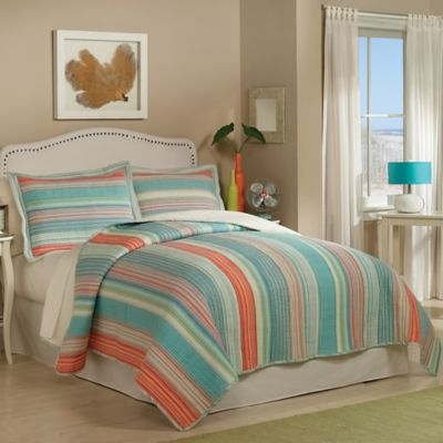 Amagansett Reversible Full/Queen Quilt Set