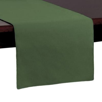 Basic Polyester 72-Inch Table Runner in Olive