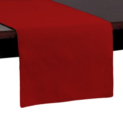Basic Polyester 54-Inch Table Runner in Holiday Red