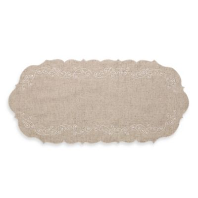 Lenox® French Perle Centerpiece in Linen