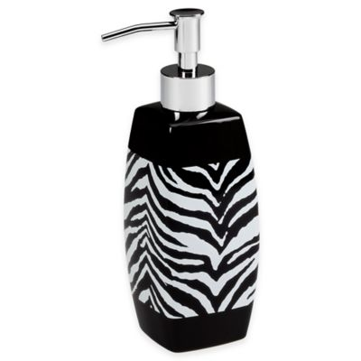 Creative Bath™ Zebra Lotion Dispenser