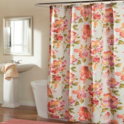 Melon Shower Curtains