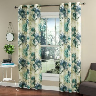Floral Window Curtains