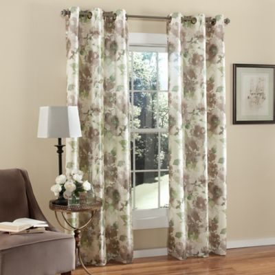 Floral Panel Curtains