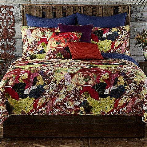 Buy Tracy Porter Wild Flowers Twin Quilt From Bed Bath