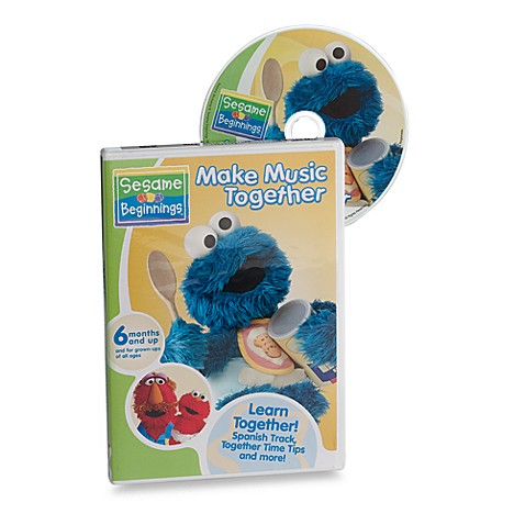 Sesame Beginnings®  Make Music Together DVD