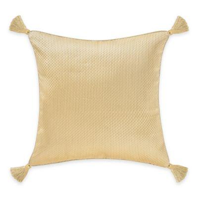 Juliette European Pillow Sham in Gold