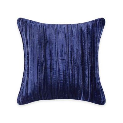 Tracy Porter Ambrette Ruffled Velvet Square Throw Pillow