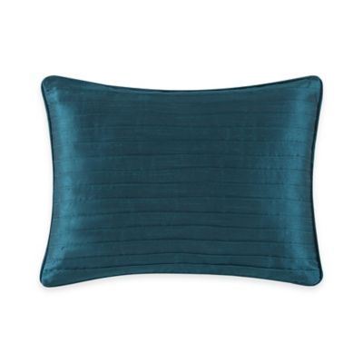 Tracy Porter Cerena Pleated Faux-Silk Breakfast Throw Pillow