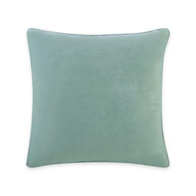 Tracy Porter Chloe Solid Velvet Square Throw Pillow