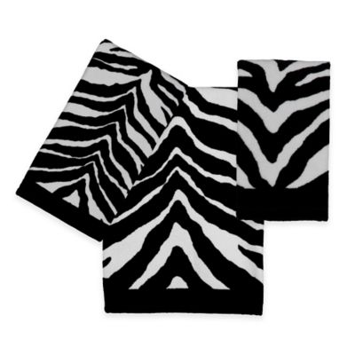 Creative Bath™ Zebra Hand Towel