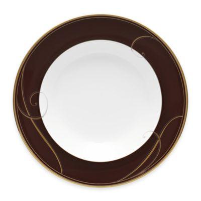Noritake® Golden Wave Chocolate Rim Soup Bowl