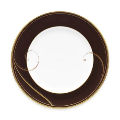 Noritake® Golden Wave Chocolate Bread and Butter Plate