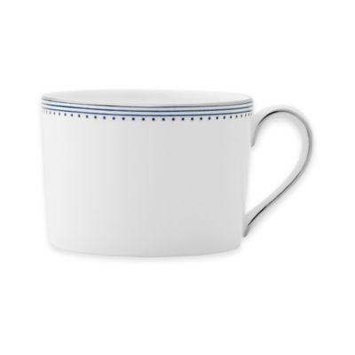 Dishwasher Safe Indigo Teacup