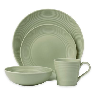 Gordon Ramsay by Royal Doulton® Maze 4-Piece Place Setting in Sage