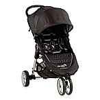 Baby Jogger® City Mini® 3-Wheel Single Stroller in Black/Grey