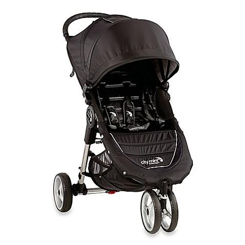 Baby Jogger 174 City Mini 174 3 Wheel Single Stroller In Black