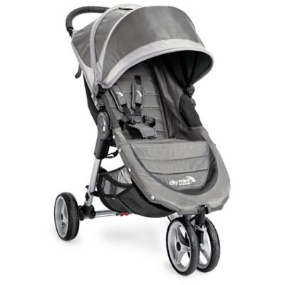 Baby Jogger® City Mini® 3-Wheel Single Stroller in Steel/Grey