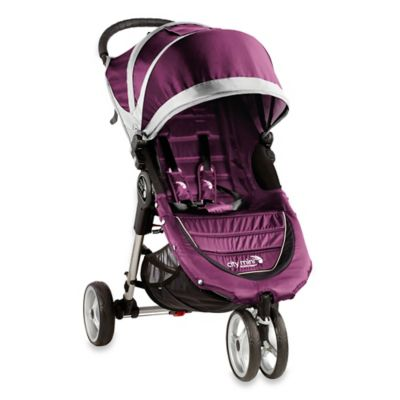Baby Jogger® City Mini® 3-Wheel Single Stroller in Purple/Grey
