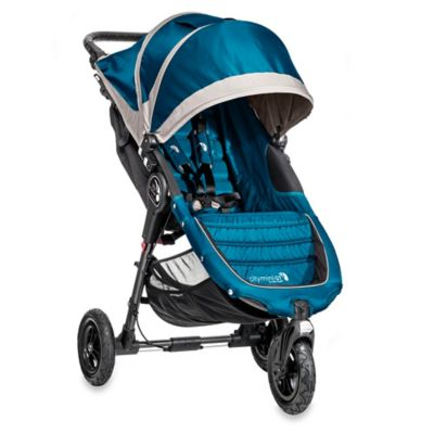 Teal Grey Single Stroller