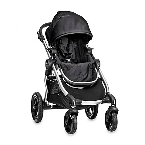 Full Size Strollers > Baby Jogger® City Select Single Stroller in Onyx/Silver