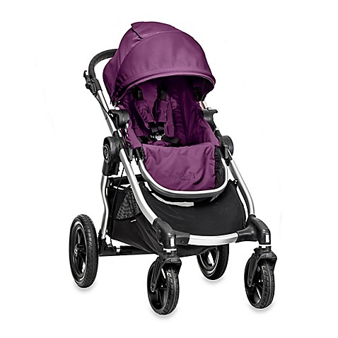Full Size Strollers > Baby Jogger® City Select Single Stroller in Amethyst/Silver
