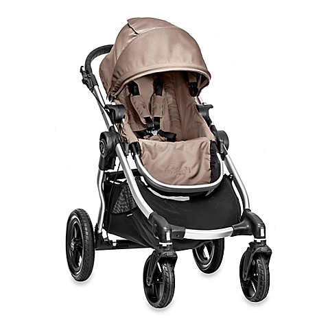 Full Size Strollers > Baby Jogger® City Select Single Stroller in Quartz/Silver