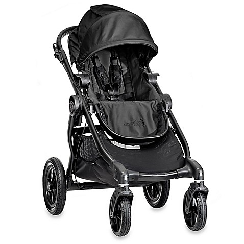 Full Size Strollers > Baby Jogger® City Select Single Stroller in Black/Black