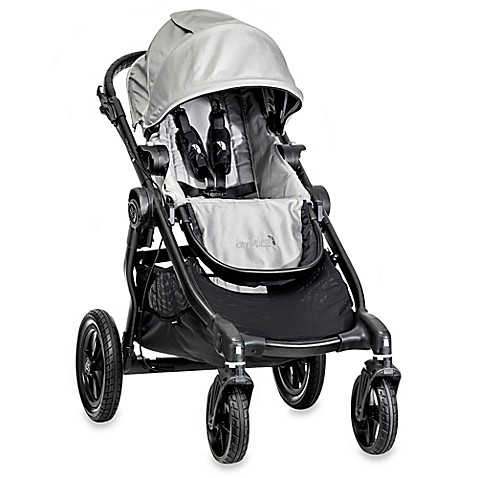 Full Size Strollers > Baby Jogger® City Select Single Stroller in Silver/Black