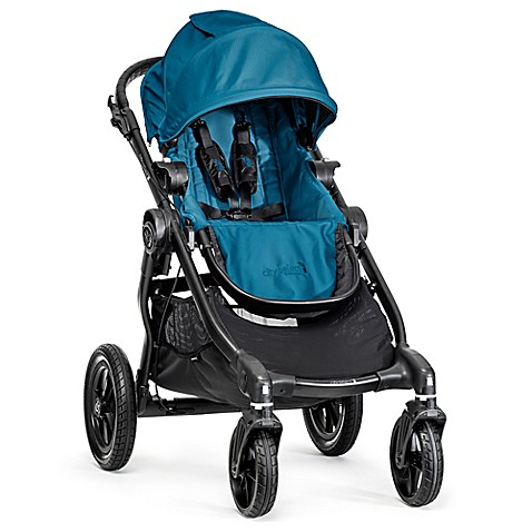 Full Size Strollers > Baby Jogger® City Select Single Stroller in Teal/Black