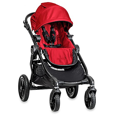 Full Size Strollers > Baby Jogger® City Select Single Stroller in Red/Black