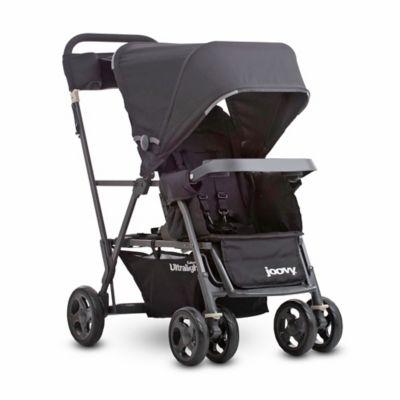 Black Tandem Stroller