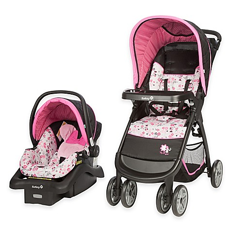 Disney 174 Amble Travel System In Garden Delight Minnie