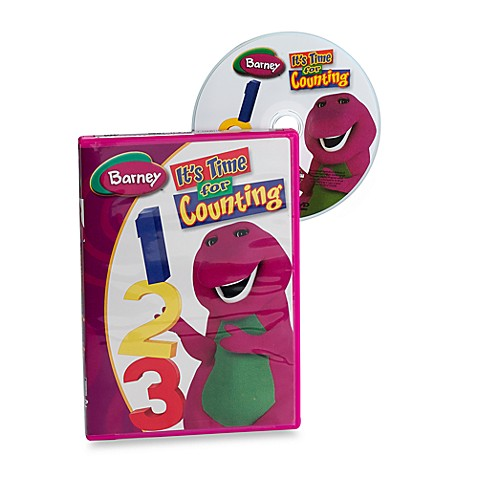 Buy Barney It S Time For Counting Dvd From Bed Bath Amp Beyond