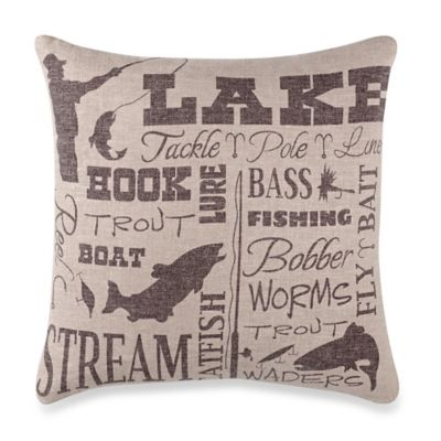 HiEnd Accents Lake Throw Pillow