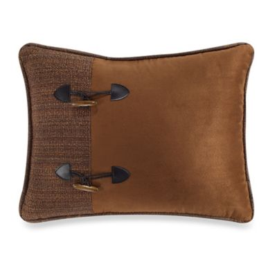 HiEnd Accents Crestwood Buckle Accent Pillow