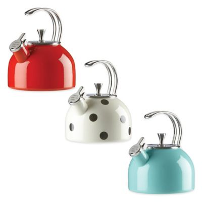 kate spade new york All in Good Taste 2.5 qt. Tea Kettle in Dots