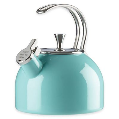 kate spade new york All in Good Taste 2.5 qt. Tea Kettle in Turquoise