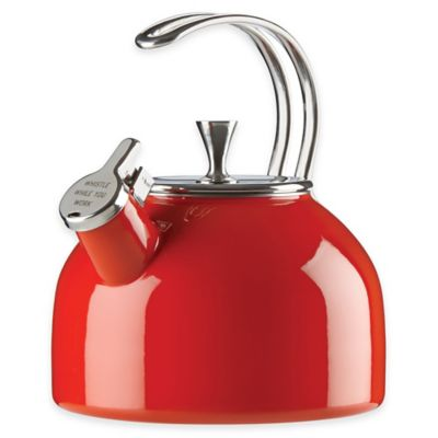kate spade new york All in Good Taste 2.5 qt. Tea Kettle in Red