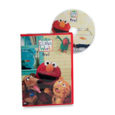 Sesame Street® Elmo's World™ Pets! DVD