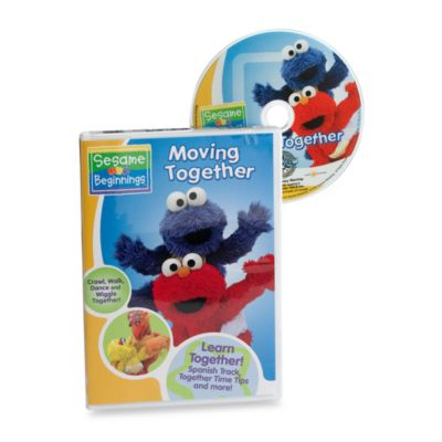 Sesame Beginnings® Moving Together DVD