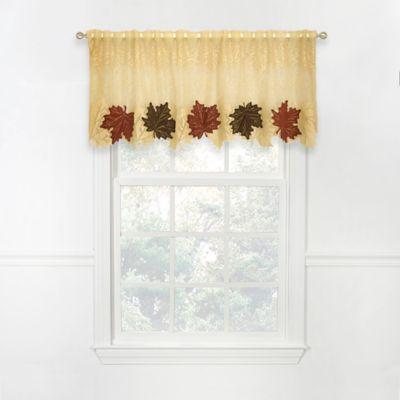 Heritage Lace® Maple Leaf 4-Way Valance
