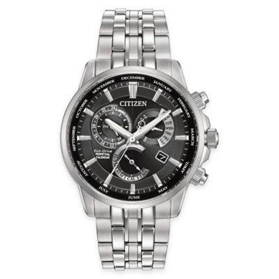 Citizen Eco-Drive Calibre 8700 Men's 42mm Perpetual Calendar Watch in Stainless Steel