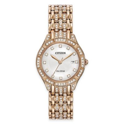 Rose Gold Silhouette Watch